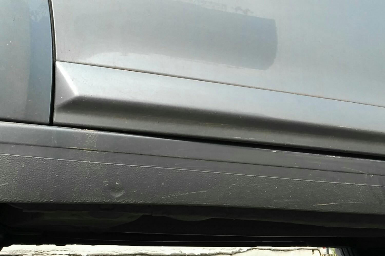 6 自动 时尚型( 灰色 )  打磨痕迹 发动机舱 左侧水箱框架 右侧水箱