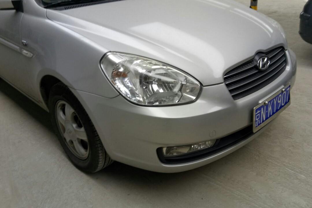 【北京】现代 雅绅特 2007款 1.6 自动 豪华型( 灰色 )